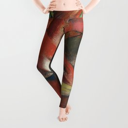 Franz Marc - The Foxes Leggings