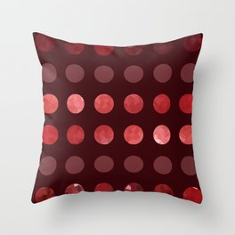 Larger Dots-A-Plenty Throw Pillow