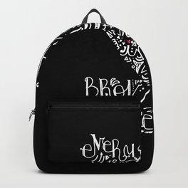 White planet telex Backpack