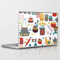 kitchen Laptop & iPad Skins featuring Kitchen by Kathrin Legg
