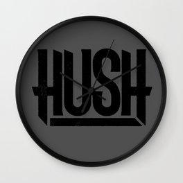 HUSH Wall Clock
