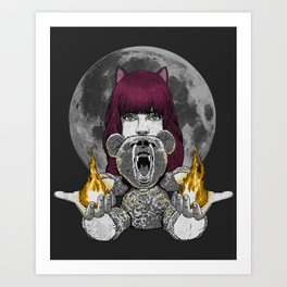Have you seen my bear? Art Print