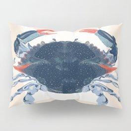Blue Crab, 2020, Kayla Kinsella Meier Pillow Sham