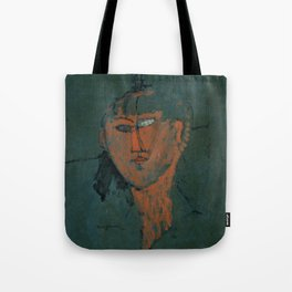 Amadeo Modigliani / Tête rouge - 1915 Tote Bag