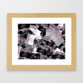 pattern fill Framed Art Print
