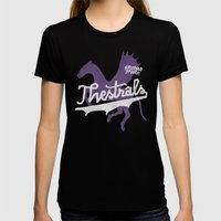 Thestrals Black SMALL Womens Fitted Tee