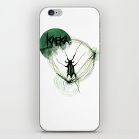 kafka iPhone & iPod Skins featuring Kafka Hommage by Hellbunt