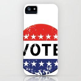 vintage political  retro iPhone Case