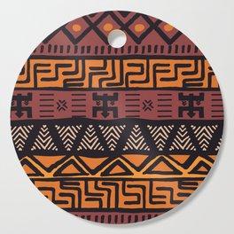 Tribal ethnic geometric pattern 021 Cutting Board