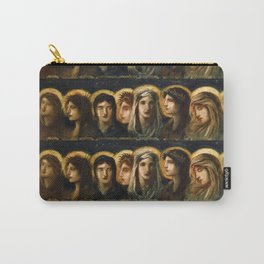 "Simeon Solomon ""Love, Joy, Peace, Long Suferng, Gentleness, Goodness, Faith, Meekness, Temperance"" Carry-All Pouch"