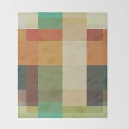Retro Geometry Throw Blanket