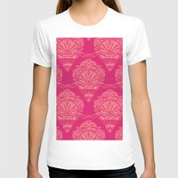 damask T-shirts featuring Damask by cactus studio