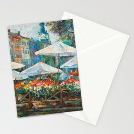 Lviv city center Stationery Cards