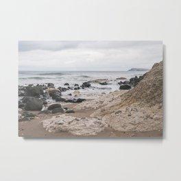 White Rocks of Portrush Ireland Metal Print