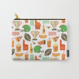 American Football pattern Carry-All Pouch