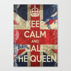 Queeny Canvas Print