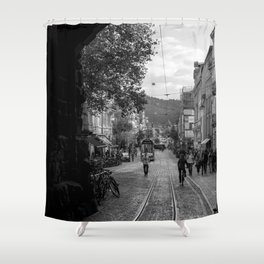 Streets of Freiburg Shower Curtain