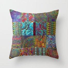 Bohemian Wonderland Throw Pillow