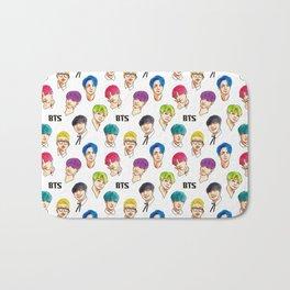 BTS Colorful Bath Mat