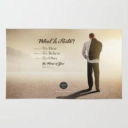 What Is Faith? Rug
