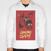 guardians of the galaxy Hoodies featuring Guardians by Perry Misloski