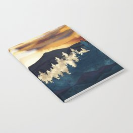 Fall Sunset Notebook