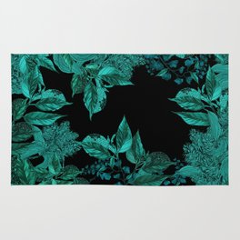 Dark Forest (Emerald / Black) Rug