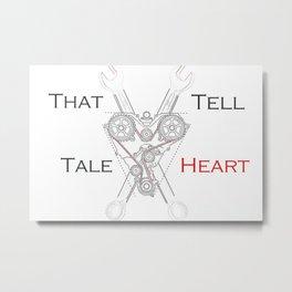 That Tell-Tale Heart Metal Print