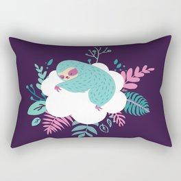 Little Sleeping Sloth Rectangular Pillow