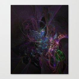 Cosmic Dream Catcher Canvas Print