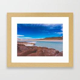Piedras Rojas (Red Rocks), San Pedro de Atacama Desert, Chile 3 Framed Art Print