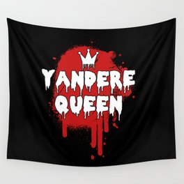 Yandere Anime I King Queen Princess Family Gift Wall Tapestry