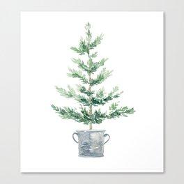 Christmas fir tree Canvas Print