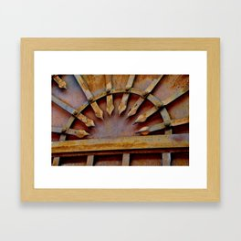 RUSTIC Framed Art Print