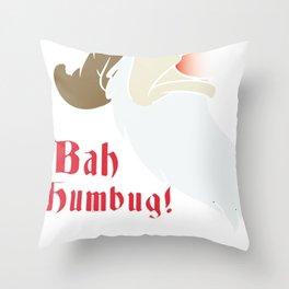 bah humbug Throw Pillow