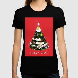 Meowy Xmas! T-shirt