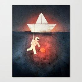 Ocean Diver Canvas Print