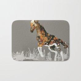 Ice Horse Bath Mat