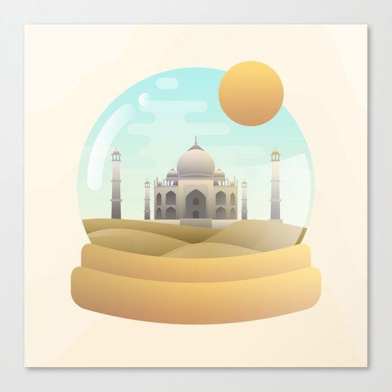 Sand Globe Canvas Print