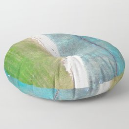 Hawaiian Shores Floor Pillow