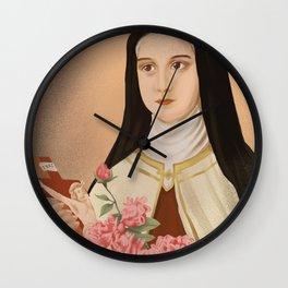 The Little Flower Wall Clock