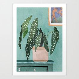Plant 5 Art Print