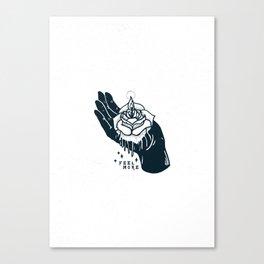 Feel More Canvas Print