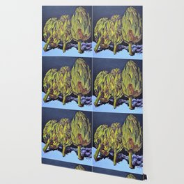 three artichokes Wallpaper