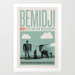 Bemidji: Best City on the Mississippi Art Print