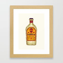 TEQUILA Framed Art Print