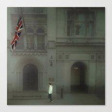 Walking In London. Canvas Print