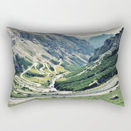 Amazing Road in the Mountains Rectangular Pillow