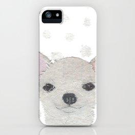Chihuahua, Dog, Cream Chihuahua iPhone Case