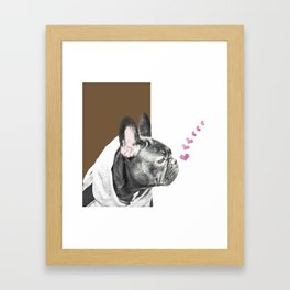 Pug Framed Art Print